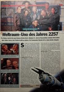 """""""Weltraum-Uno des Jahres 2257"""""""