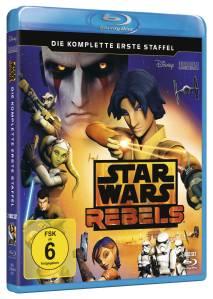 """Das Bluray-Set der ersten Staffel von """"Rebels"""""""