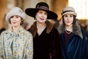 Laura Carmichael, Elizabeth McGovern & Michelle Dockery
