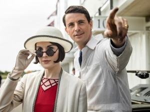 Michelle Dockery & Matthew Goode