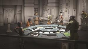 Einsatzbesprechung der Rebellen