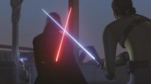 Darth Vader im Duell mit Kanan