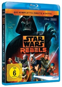 """Cover der Blu-ray-Ausgabe von Staffel 2 von """"Star Wars Rebels"""""""