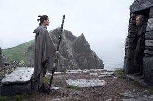 Rey und Luke auf Ahch-To